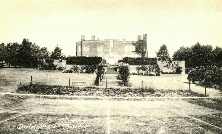 Edgar Wood built Dalney Veed (now Hill House), Barley, Hertfordshire in 1907.  Its austere beauty shocked his contemporaries.