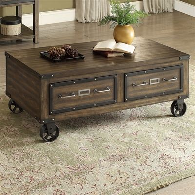 Brassex 273-02 Ambassador Coffee Table