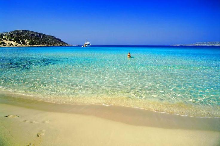Gorgeous Simos beach, Elafonissos, Laconia #SouthPeloponnese #Greece