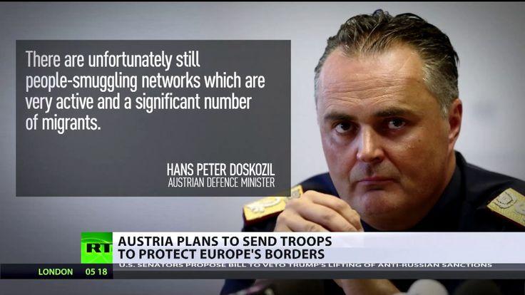 Österreich: Regierung will Militär zur Grenzsicherung der Balkanroute ei...