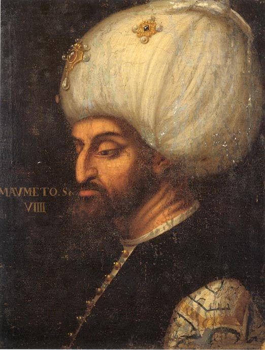 Mehmed II - Veronese - 16th Century  ~Repinned Via Elsbeth Vorstenbosch http://verdacciostudio.com/wp-content/uploads/2013/07/Mehmed-II-Veronese.jpg