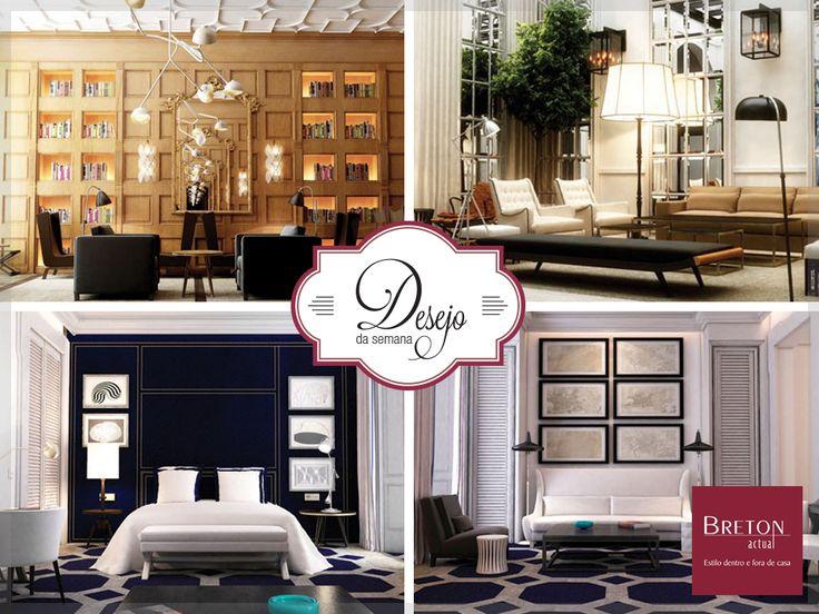 Com uma atmosfera única e 70 quartos decorados com exclusividade, o hotel Only You, em Madri, mescla a funcionalidade do design moderno com toques da estética clássica mediterrânea. Um sonho de consumo para os apaixonados por décor! #BretonActual #Breton #DesejodaSemana #Décor