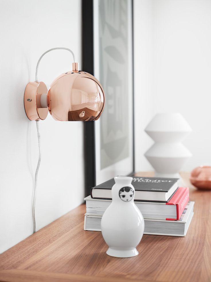 Ball wall copper. Design: Benny Frandsen