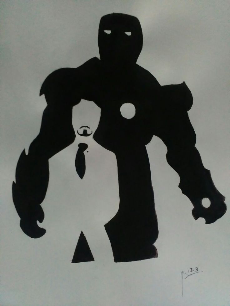 Iron man...