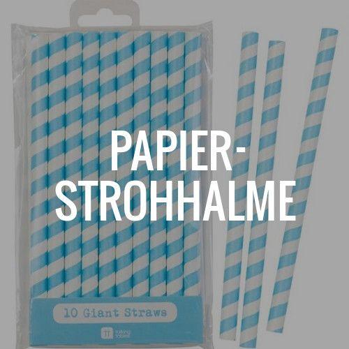 Papierstrohhalme eignenen sich nicht nur als Tischdeko oder Trinkhilfe. Stabile Papierstrohhalme können auch als Cake Pops Stiele verwendet werden.  #Papierstrohhalme