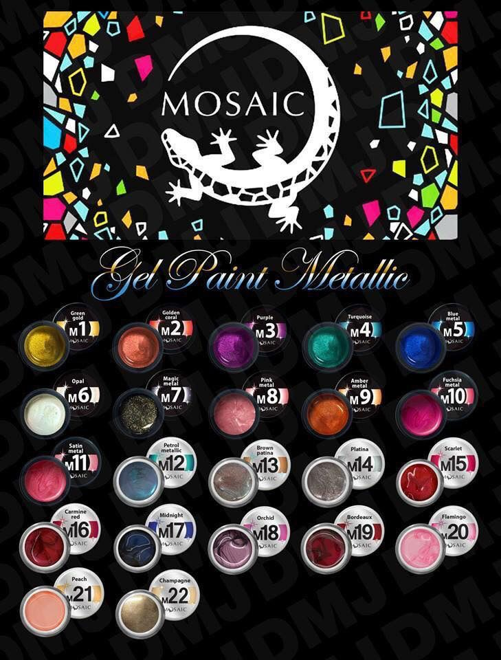 Which one is your favourite METALLIC gel paint? Don't forget offer is still on today, just use the code EXCEL20 to receive your discount at the checkout .  www.susansnailstore.co.uk