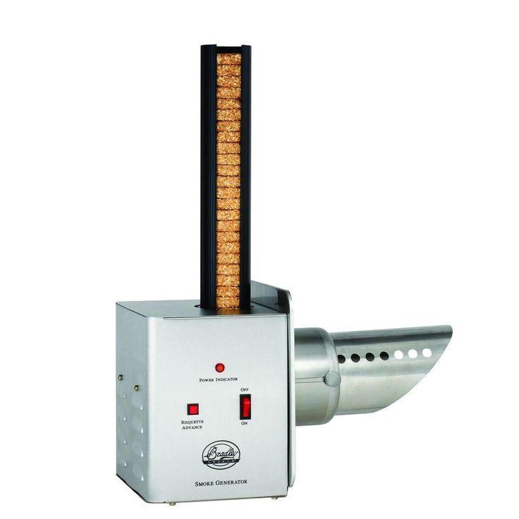 Bradley Smoker Electric Smoke Generator, Stainless Look