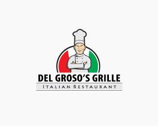Del Groso's Grille Logo design - Del Groso's Grille logo Price $250.00