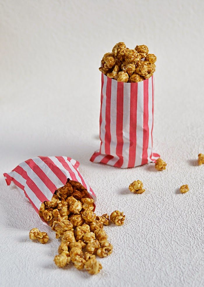 Lemon & Vanilla: Spicy salted caramel popcorn / Pipocas com especia...