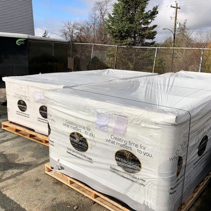 We just got two new Hydropool Swim Spas in!! These customers are going to be very happy!  Stay tuned for the install pictures!