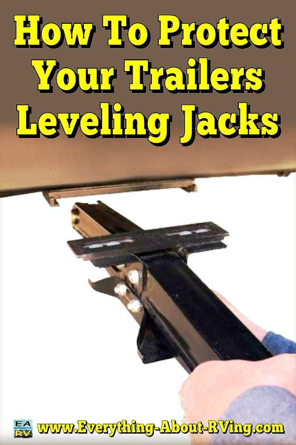 This tip was submitted to us on our Share your RVing Tips and Tricks page by Carmen from El Segundo. How To Protect Your Trailers Leveling Jacks and Save Money... Read More: http://www.everything-about-rving.com/how-to-protect-your-trailers-leveling-jacks-and-save-money.html Happy RVing! #rving #rv #camping #leisure #outdoors