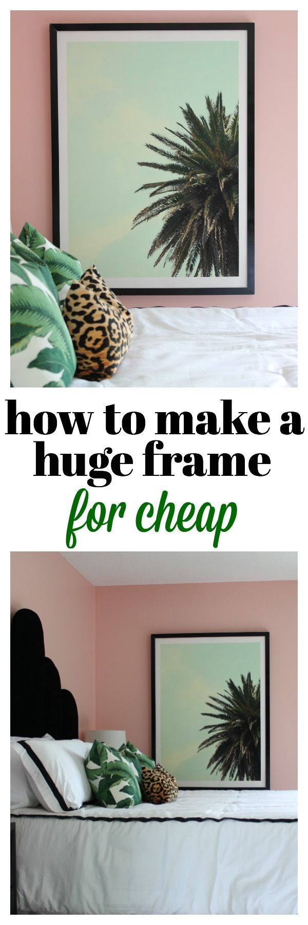 How to Make a Huge Frame | DIY Frame | How to Make a Frame | DIY Engineer Print Frame | DIY Wall Frame | DIY Huge Wall Frame DIY Wall Decor