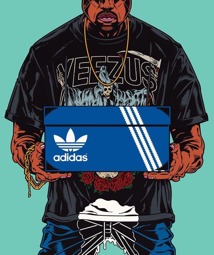 KANYE WET #kanyewest #adidas #yeezy #rudcef by rud_cef