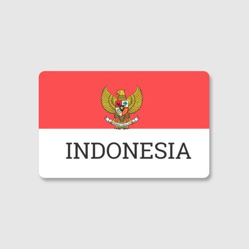 INDONESIA dari Tees.co.id Oleh Nduts Store