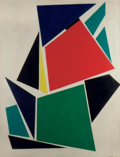 JO DELAHAUT (1911-1992) Sève 1956