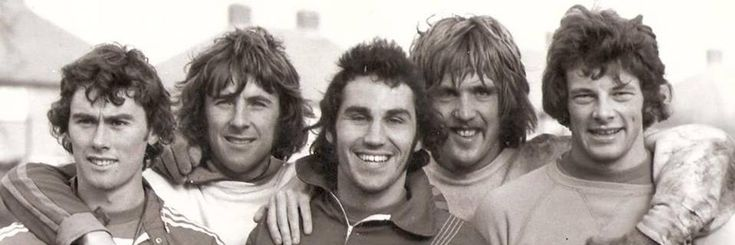 QPR & England: Dave Thomas, Stanley Bowles, Gerry Francis, Phil Parkes & Ian Gillard...only the late great Dave Clement missing from this international line up.
