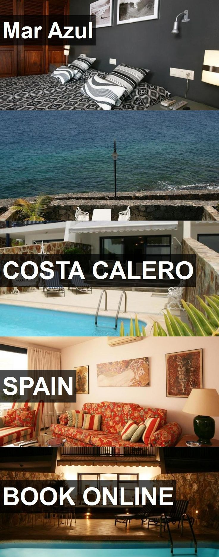 Hotel Mar Azul in Costa Calero, Spain. For more information, photos, reviews and best prices please follow the link. #Spain #CostaCalero #travel #vacation #hotel