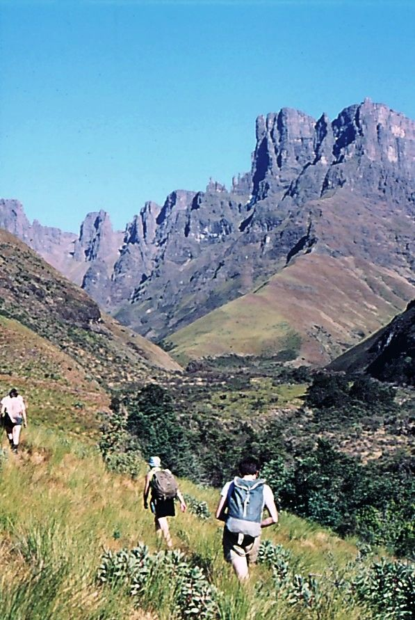 Mweni Needles, Drakensberg http://www.n3gateway.com/things-to-do/hiking-walking.htm