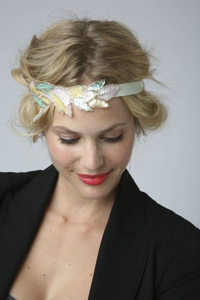 1000 images about coiffure cheveux court on pinterest coiffures updo and audrey tautou - Coiffure headband cheveux courts ...