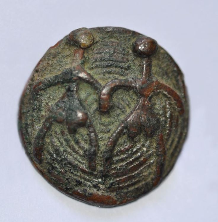 Amlash bronze ring with figurines 6, 1st millenium B.C. Private collection