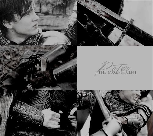 William Moseley as High King Peter the Magnificent. #thechroniclesofnarnia