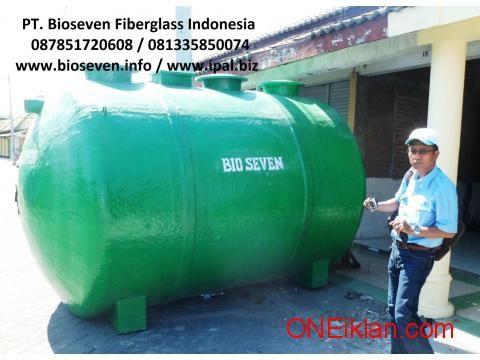 Septic Tank BIOSEVEN, Biotech, Septic Tank Modern Plus Blower Ramah Lingkungan
