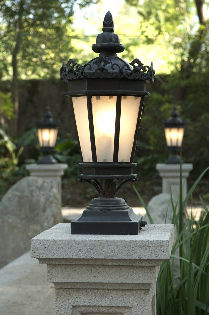 66 best custom lighting images on pinterest make your backyard a beautiful space by adding a hand made outdoor pier lantern from aloadofball Images