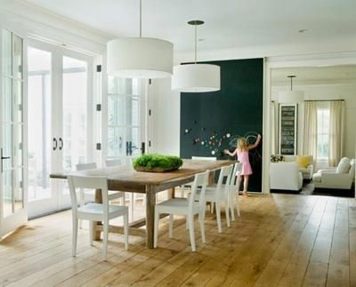 Dining room. Modern and romantic.