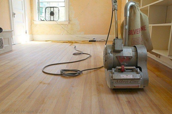 Sanding Hardwood Floors Blake Hill House Diy Hardwood Floors Hardwood Floors Refinishing Floors