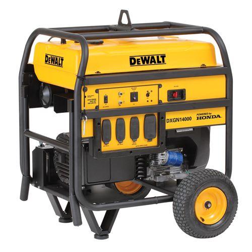 DXGN14000 14000 Watt Commercial Generator | DEWALT Tools