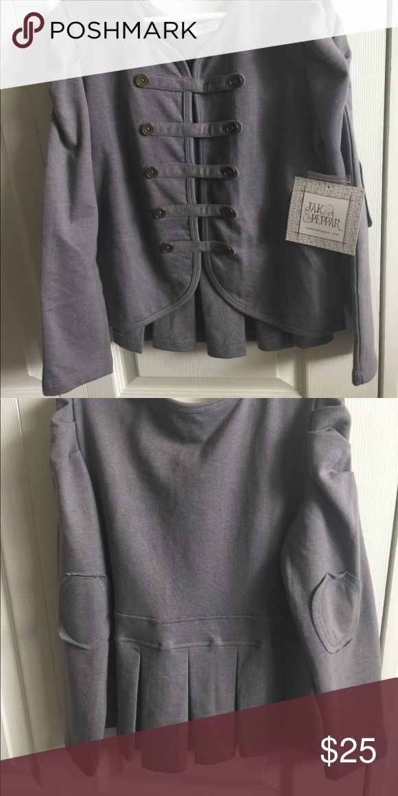 Jak & Peppar Able Jacket Girls Size 10 Soft well made quality elbow patch jacket. Very versatile. jak & peppar Jackets & Coats