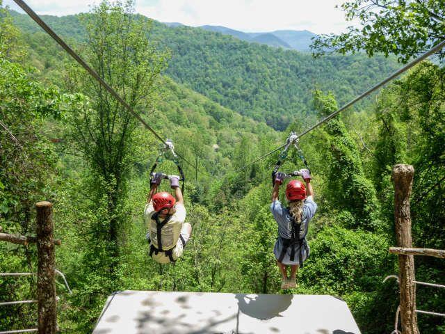 Best Zip Lining North Carolina
