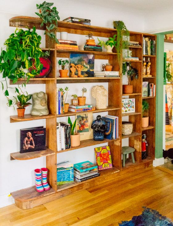 By The River Update: New Shelving Unit
