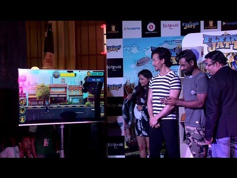 WATCH Tiger Shroff & Remo D'Souza launch and play THE FLYING JATT mobile game. See the full video at : https://youtu.be/0AftbIu-iP4 #tigershroff #remodsouza #theflyingjatt #bollywood #bollywoodnews #bollywoodnewsvilla
