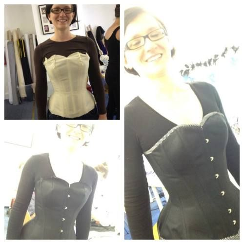 Beginners corset making workshop (3 days Fr-Su) | Oxford School of Corsetry, North Leigh, Oxfordshire | £300, incl. all materials