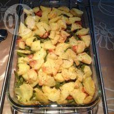 Foto recept: Ovenschotel met sperziebonen