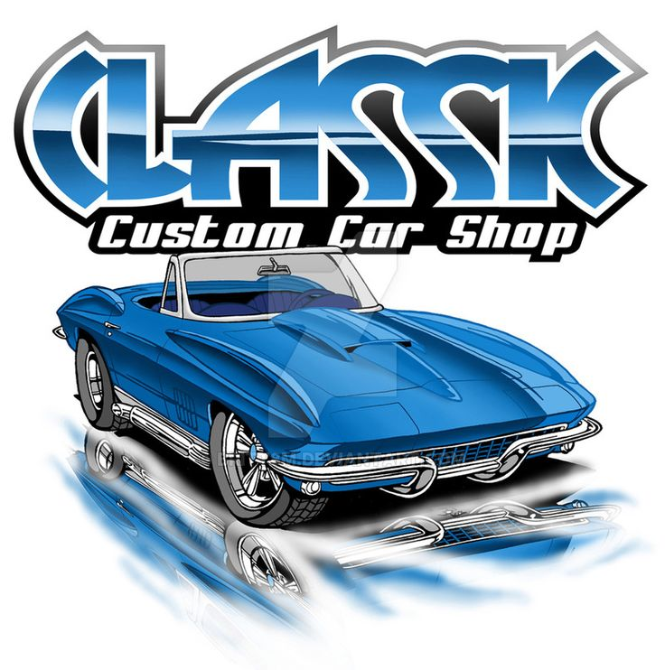 Classic Custom Car Shop by Britt8m on DeviantArt