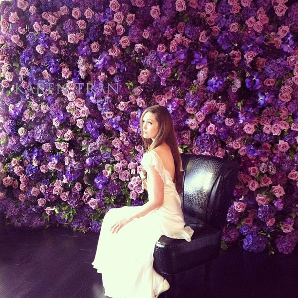 48 Best Images About Our Favorite Real Flower Backdrops On