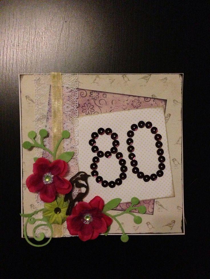 Mummun 80-vuotis kortti