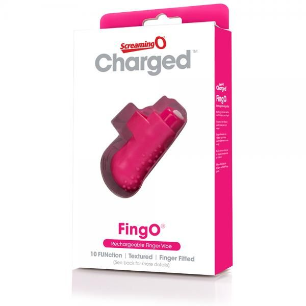 Screaming O Charged Fing O Vooom Mini Vibe Pink on naughtycandyz
