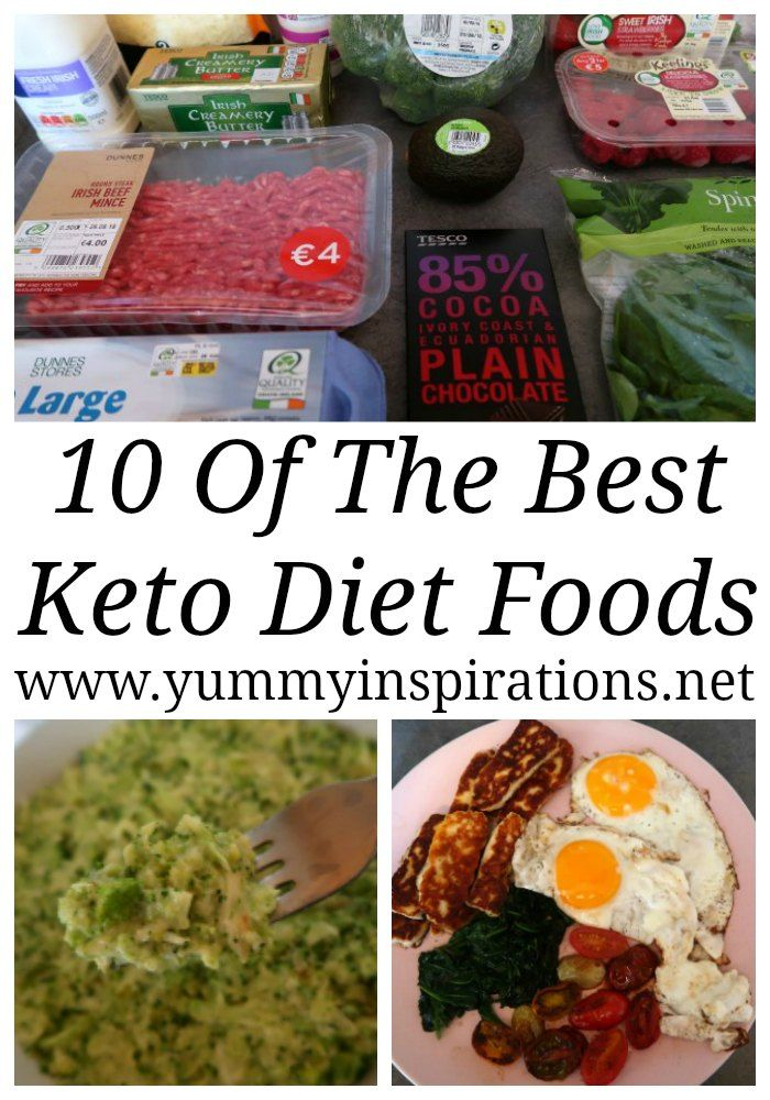 10 Best Keto Foods To Eat – A List of Low Carb & Ketogenic Diet Friendly