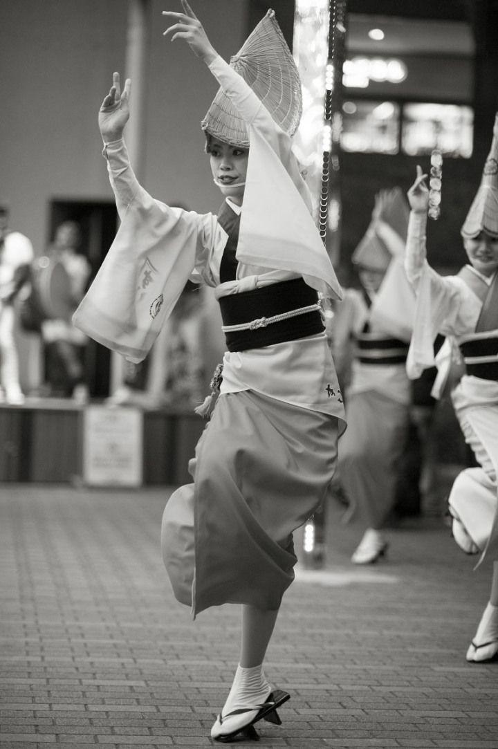 Japanese Awa odori dancers 阿波踊り