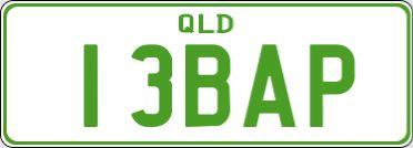 Personalised Plates Queensland.