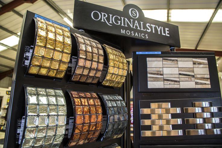 Mosaic displays in all showrooms #mosaic #displays #york # ...