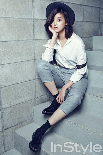 세계 최고의 스타&패션 매거진 InStyleKorea Oh Yoon Seo