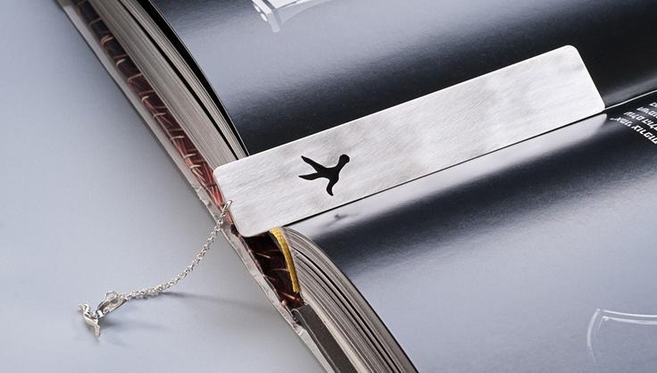 Peace symbol bookmark
