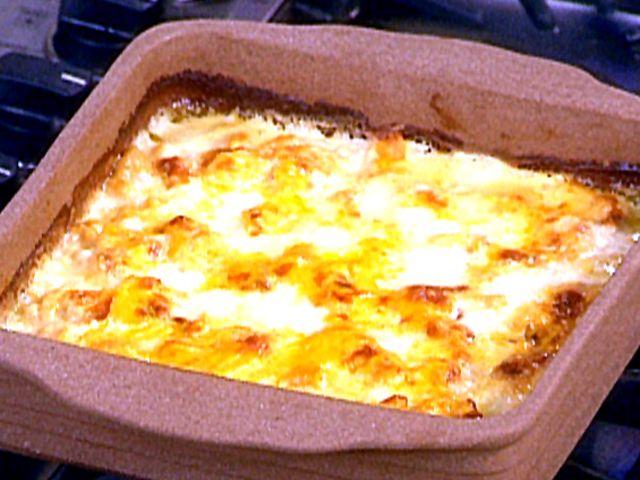 "Cauliflower ""Mac"" and Cheese Casserole Recipe : Food Network"