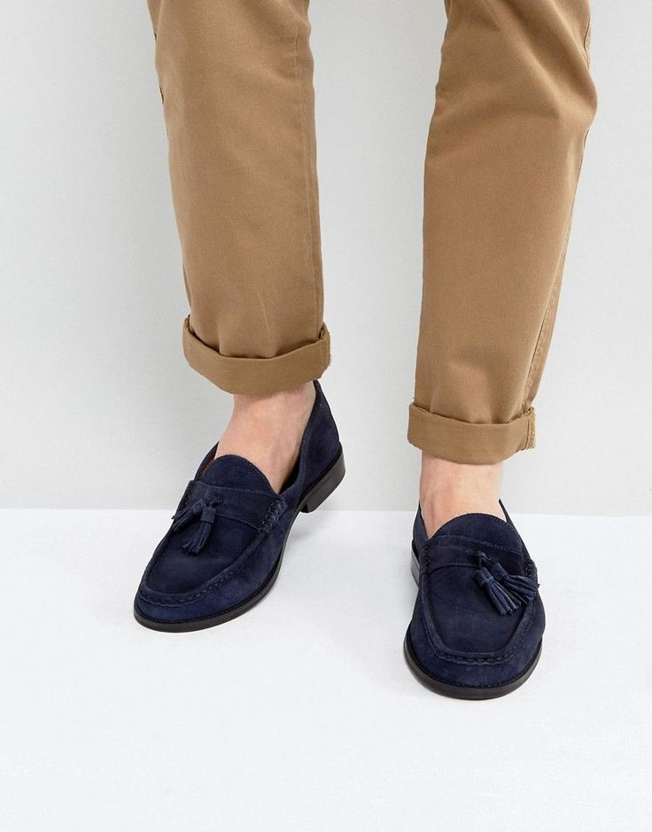 Ben Sherman Loco Tassel Loafers - Blue