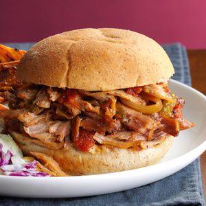 Italian Pulled Pork Sandwiches Recipe