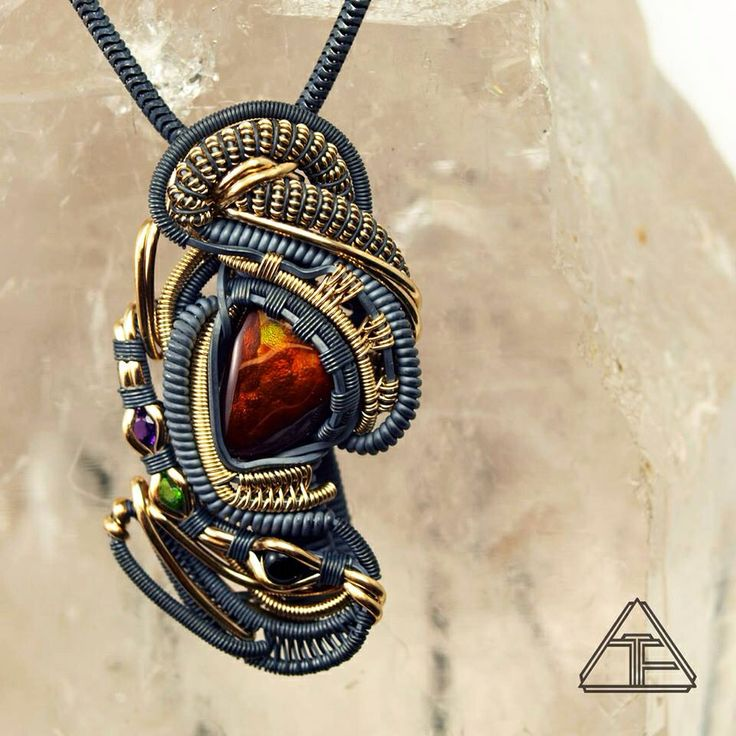 88 best heady wire wrapped pendants images on pinterest